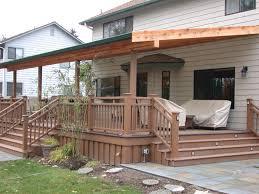 design inexpensive patio ideas diy railings
