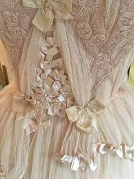 Blush Tulle and Lace <b>Wedding Dress with Detachable</b> Sleeves