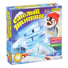<b>Настольная семейная игра ФОРТУНА</b> Смелый пингвин — купить ...