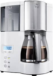 <b>Кофеварка MELITTA Optima</b> Timer, <b>капельная</b>, белый [6613655]