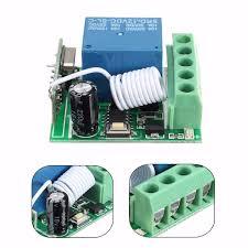 3pcs <b>DC12V 10A</b> 1CH 433MHz Wireless Relay RF Remote Control ...