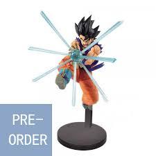 Original Banpresto <b>Dragonball</b> Super Heroes Son Goku Blue Figure ...