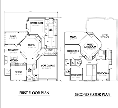 Two Story New Home Plans  Custom House Design  Affordable Floor    Two Story Home Plan E