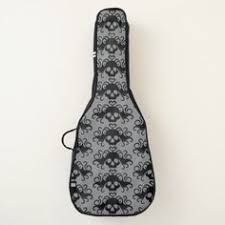 <b>Gothic skull pattern Halloween</b> Guitar Case | Zazzle.com | Girly gifts ...
