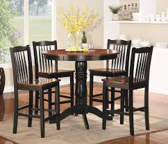 Space Saving Kitchen Table Sets 5 Round Black Dining Room Table And Chairs Furniture Ideas