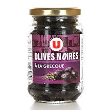 <b>Оливки</b> черные вяленые по-гречески SISTEM U 250 г, Франция ...