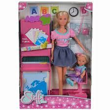 Купить куклу <b>Simba Кукла Штеффи</b> - учитель и Еви - ученица ...