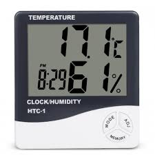 HTC-1 High Quality <b>Indoor Room LCD</b> Electronic Temperature ...