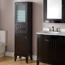 bathroom quot mission linen:  amazing palmetto bathroom linen storage cabinet bathroom also bathroom towel cabinet