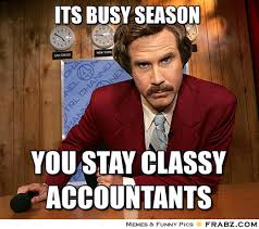 Its Busy season... - Anchorman Meme Generator Captionator via Relatably.com