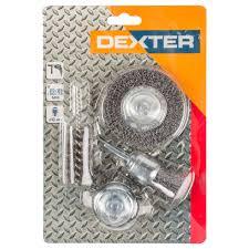 <b>Набор щеток</b> Dexter для дрели 4 шт. в Москве – купить по низкой ...