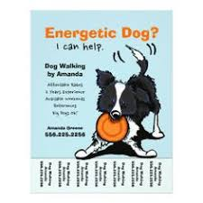 Dog walking, Flyers and Flyer template on Pinterest