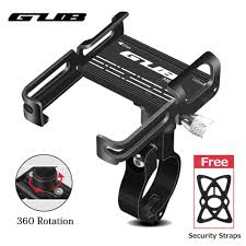 <b>GUB P20 Aluminum Bike</b> Phone Holder 360 Degree Rotation For ...