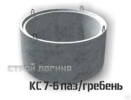 ЖБ <b>кольца</b> КС <b>7</b>-6 для устройства горловины железобетонного ...