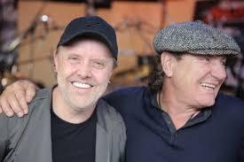 See Lars Ulrich Discuss Metallica's <b>Roots</b> With <b>AC</b>/<b>DC's</b> Brian Johnson