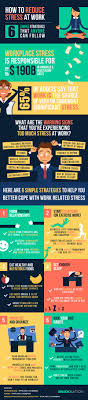 how to reduce stress at work simple strategies anyone can follow how to reduce stress at work infographic