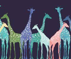 жирафы: лучшие изображения (12) | Рисунок жирафа ...