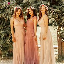 Blush Pink <b>Bridesmaid Dresses Ever Pretty</b> EP07303 Sweetheart A ...