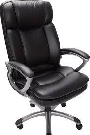 amazoncom serta 43675 faux leather big tall executive chair black kitchen dining big office chairs executive office chairs