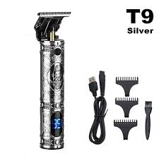 <b>Newest 10w High</b> Power Professional Hair Trimmer Cordless LCD ...