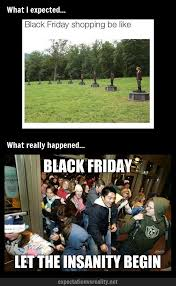 BLACK FRIDAY | Expectation Vs Reality