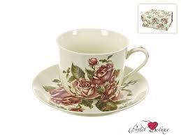 Китайский <b>чайная пара</b> рубиновые розы (450 мл) <b>best home</b> ...