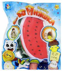 Купить <b>игрушка</b>-<b>антистресс</b> 1Toy мммняшка <b>squishy</b>, <b>арбуз</b> ...