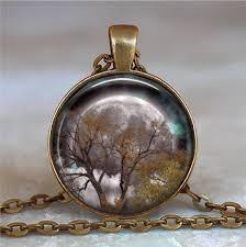 Autumn Equinox pendant, Full Moon pendant Pagan pendant ...
