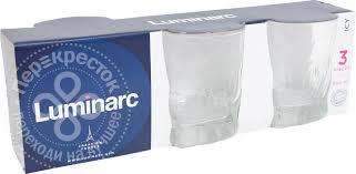 Купить <b>Набор стаканов Luminarc</b> Айси 3шт*300мл с доставкой на ...