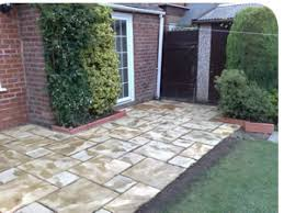 patio slab sets: we have extensive experience and knowledge of all types of paving eg slabs back sets and concrete surfaces