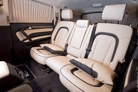Перетяжка салона автомобиля <b>кожей</b> Audi Q7