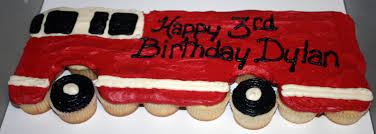 Firefighter Cupcake Decorations Fire Truck Cupcake Cake Share Pinterest Trucks Sweet And Cakes