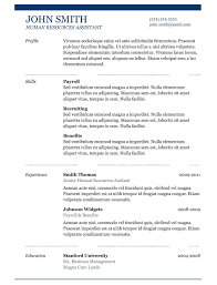 Resume Chronological  free resume templates microsoft word       reverse chronological order