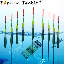 <b>Topline Tackle 10pcs/Lot</b> Carp Fishing Buoy Floats Bobber ...
