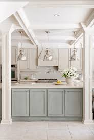 Two Tone Painting Painted Kitchen Cabinet Ideas Freshome