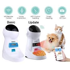 <b>3L Automatic Pet Feeder</b> With Voice Record Pets food Bowl For ...