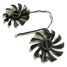<b>2pcs</b>/<b>lot Video cards fan</b> GTX1070 GPU Cooler For ZOTAC GeForce ...