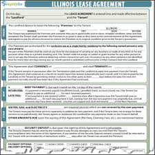 illinois lease contract