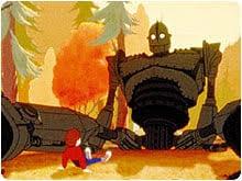 'The <b>Iron Giant</b>' (PG)