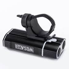 <b>WOSAWE</b> Rechargeable 2400lm <b>LED Bike Light</b> USB Handlebar ...