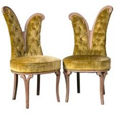 pair of art deco style side chairs art deco desk chair office side armchair