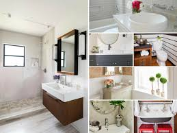 bathroom layout ideas rustic wooden vanity:  seven designers dramatically overhaul seven dreary and outdated bathrooms see the before and after photos and steal their budget friendly ideas for