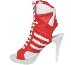 Image result for high heel sneakers