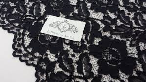 <b>Black Lace Fabric</b> - Guipure lace - <b>lace fabric</b> from Imperiallace.com