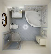 Exquisite Images Of Cute Small Bathroom Design And Decoration Ideas  Delectable White Blue