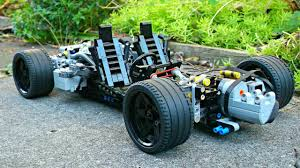 <b>Lego Technic RC</b> Supercar Chassis - 1/10 Scale - YouTube