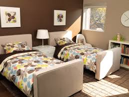 Bedroom For Two Twin Beds Modern Dorma Upholstered Twin Bed With Trundle By Monte Design
