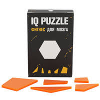 Головоломка IQ Puzzle Figures, шестиугольник для нанесения ...