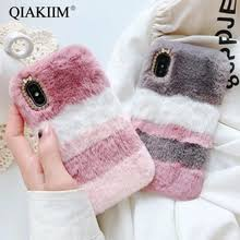 kjoew plush fabrics phone case