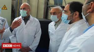 Iran produces uranium <b>metal</b> in <b>new</b> violation of nuclear deal - BBC ...